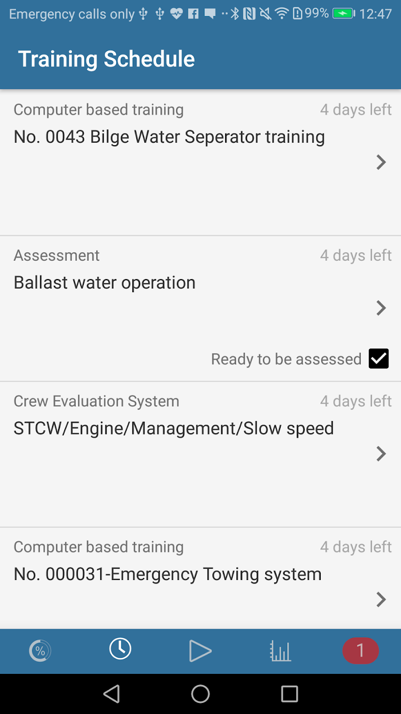 Скриншот Training