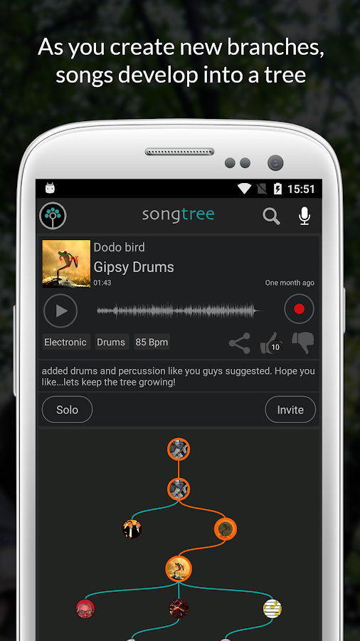 Songtree - Sing, Jam & Record- screenshot