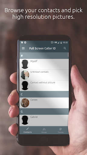 Full Screen Caller ID  screenshots 2