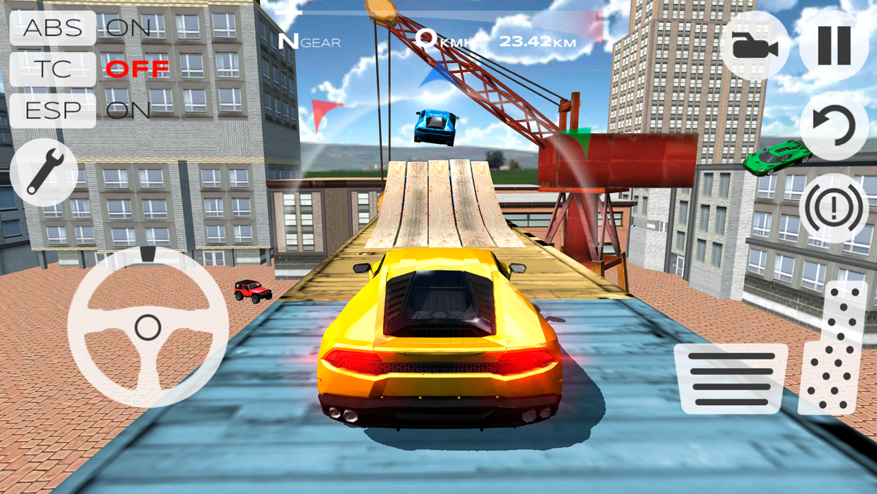 Multiplayer Driving Simulator Android Apps On Google Play - Video of car driving across us map