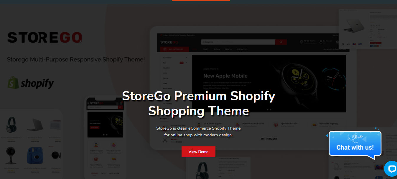 StoreGo - Shopify bootstrap theme