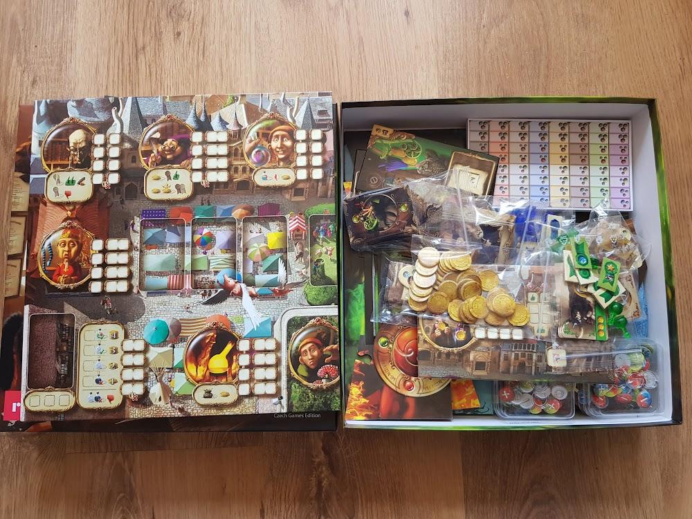 Alchemicy - zawartość pudełka