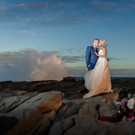 Splash by Lood Goosen (LWG Photo) - Wedding Bride & Groom ( wedding dress, groom, wedding photographer, wedding photography, bride and groom, bride groom, weddings, wedding day, wedding photographers, wedding )