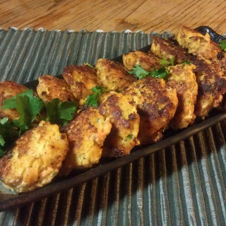 Fish Patties (low-amine, Gluten-free, Soy-free, Dairy-free, Low-fat, Low-carb, Paleo)