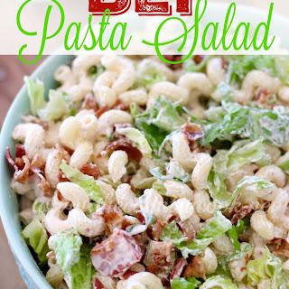 BLT Pasta Salad {Cookbook Giveaway}