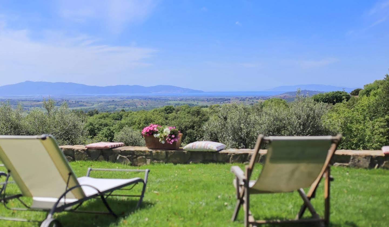 Villa avec piscine Magliano in Toscana
