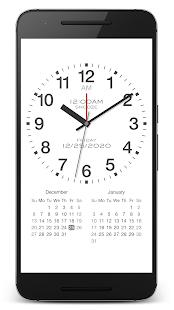 "PsPsClock ""Basic"" - Music Alarm Clock & Calendar - náhled"