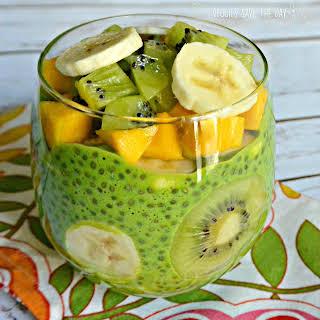 Green Chia Pudding.