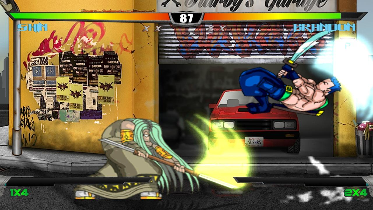 Slashers: Intense 2D Fighting- screenshot