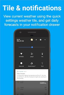 Forecast - Weather & Widgets Screenshot
