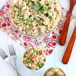 Tuna Macaroni Salad With Peas Recipes.