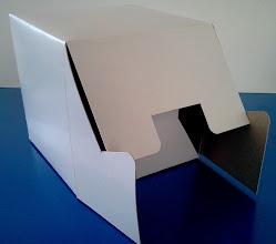 Photo: Caixa (20) para panetones e bolos (detalhes na abertura).
