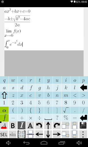 Equation Editor and Math Question and Answer Forum 2.226 screenshots 8