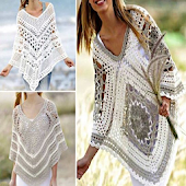 DIY Crochet Poncho Designs
