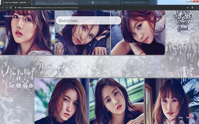 Gfriend kpop HD new tab wallpapers