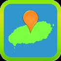 해피 제주도 지도 (지도내장) icon