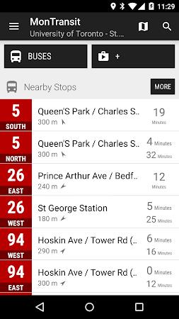 Toronto TTC Bus - MonTransit 1.1r53 screenshot 2092405