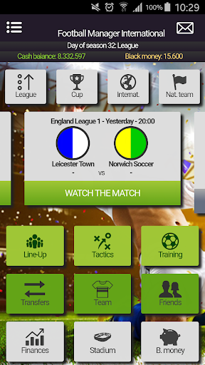 Football Manager International Mobile Manager Game 2.1.1 {cheat hack gameplay apk mod resources generator} 1