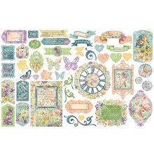 Graphic 45 Cardstock Die-Cuts - Fairie Wings