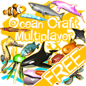 Ocean Craft Multiplayer Free icon