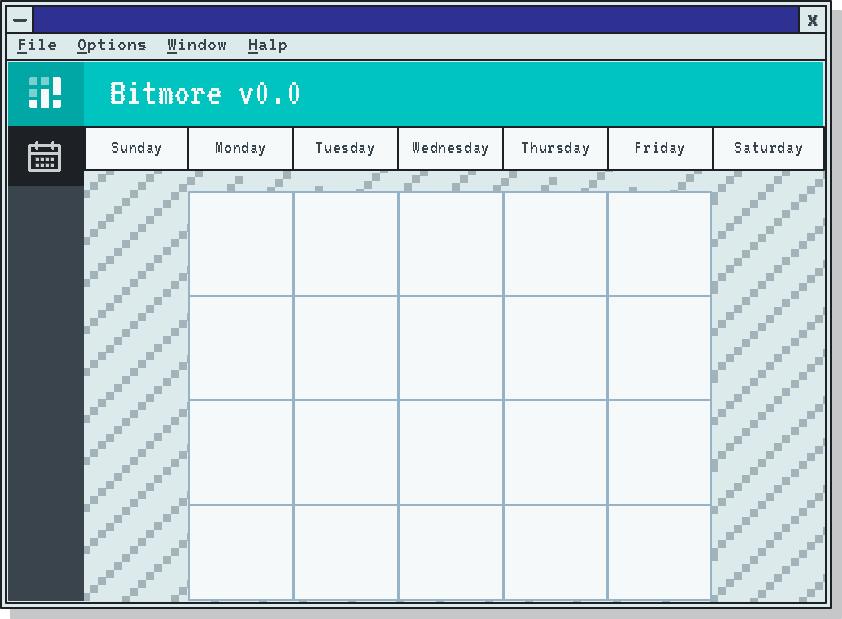 Bitmore calendar