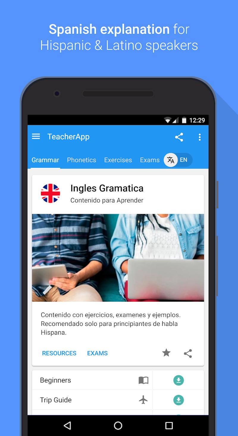 English Grammar & Phonetics Screenshot 13