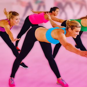 Aerobics weight loss workouts icon