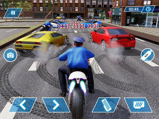 US Police Bike Chase 2020 3.7 screenshots 15