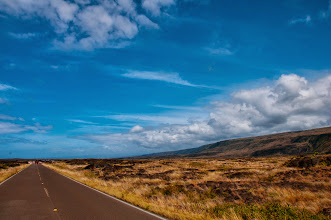 Photo: The Chain of Craters Road.