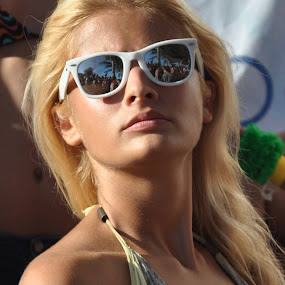 Blond by Cristobal Garciaferro Rubio - People Portraits of Women ( pwcsunglasses )