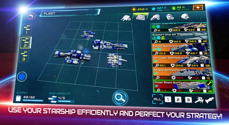 Starship battle Screenshot 2