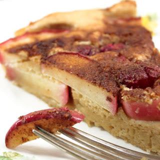 German Apple & Cranberry Puff Pancake