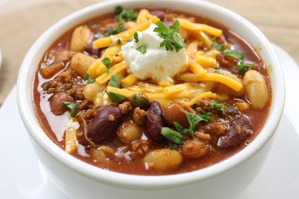 Fall Nights - 3 Bean Chili Recipe