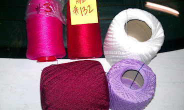 Photo: Balls of crochet cotton tend to average 175 yards, about $2.50. 1 yard = 1.4 cents. 100 yards = $1.40.  perle cotton mini cones - 1560 yards, list price was $13.25. Price was $0.0085 per yard, or 85 cents for 100 yards