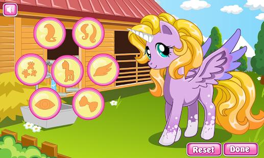 Pony makeover hair salon - náhled