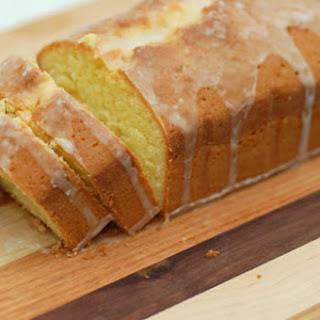 Lemon Olive Oil Pound Cake with Glaze