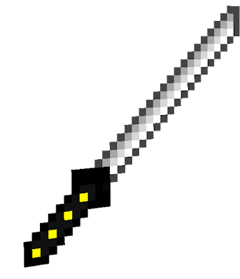 this is an sacred katana that only zaliah can wear