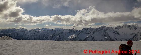 Photo: Panorama 12 Adamello Brenta da Cima Forzellina