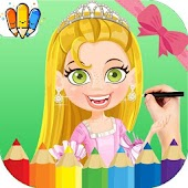 😍Princess : Coloring Games for Barbie