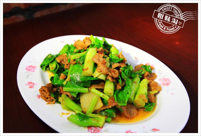 京城羊肉沙茶界蘭羊肉