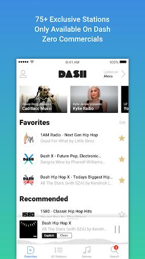 Dash Radio screenshot 1