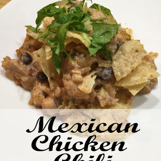 Mexican Chicken Chili Casserole Freezer Meal