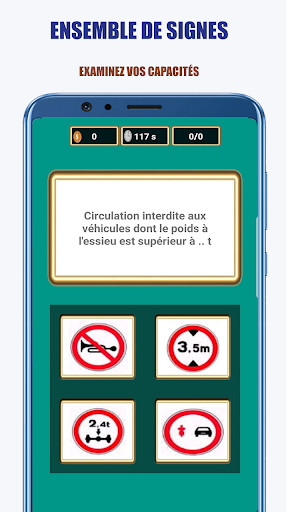 Code Triche Signalisation Routiu00e8re: Code de la Route APK MOD screenshots 1