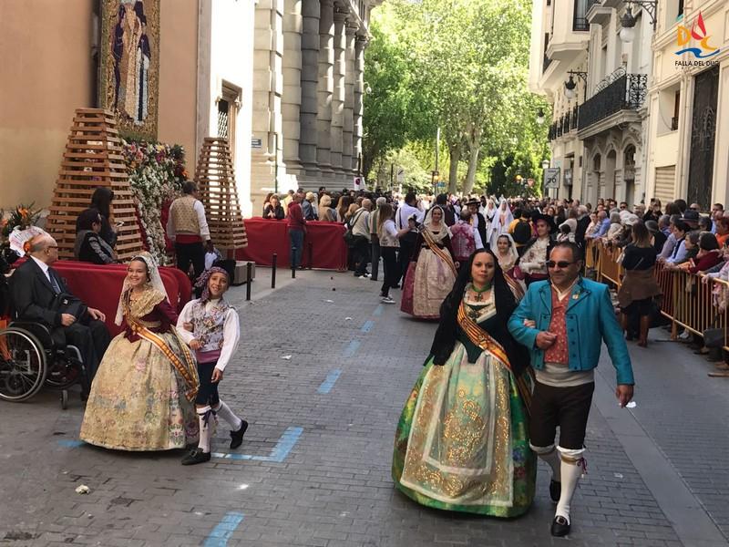 La Falla del Duc en la festividad de San Vicente Ferrer