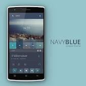 Navy Blue Zooper Theme