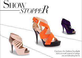 Photo: Captivate the fashion limelight with sensual appeal of straps on accentuating heels  Siren Territory | CK1-60390150| USD59.00 Available in Multi, Navy, Orange Limelight Worthy │ CK1-60390151 │ USD59.00 Available in Black, Purple, Multi Prices may vary  Visit your nearest store or CharlesKeith.com to find out more