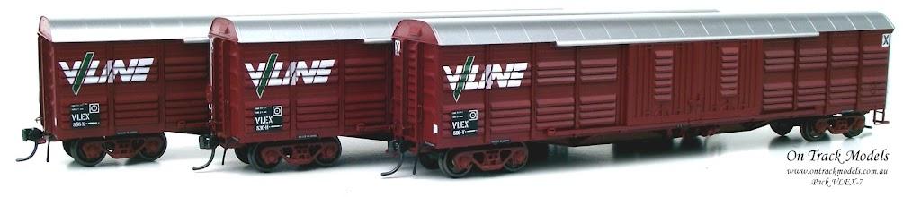 Photo: Pack VLEX-7 - V/Line VLEX 806Y, VLEX 830H, & VLEX 856X