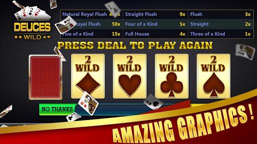 Deuces Wild - Video Poker filehippodl screenshot 2