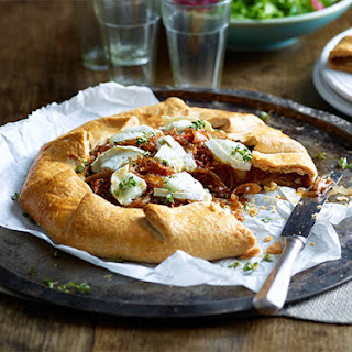 Caramelised Shallot and Goat's Cheese Galette