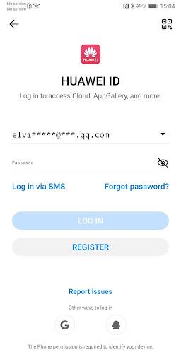 Huawei Mobile Services 4.0.3.307 screenshots 1